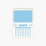 Calendarios DIN A4 de 7 hojas